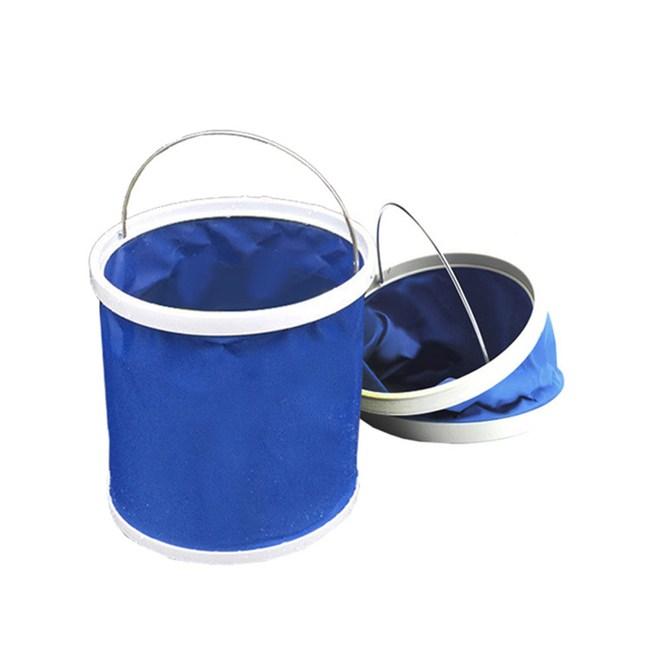 【韓國熱銷】11公升摺疊多用途水桶/裝水/釣魚/露營/洗車/大掃除