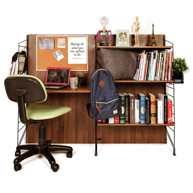 4呎書桌層架組 寬158cm 型號EZBO 03