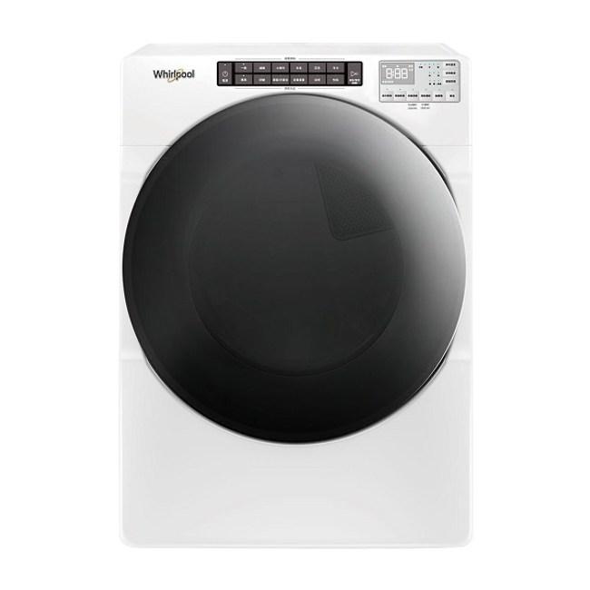 含標準安裝 惠而浦 16公斤 8TWGD6622HW 快烘瓦斯型滾筒乾衣機