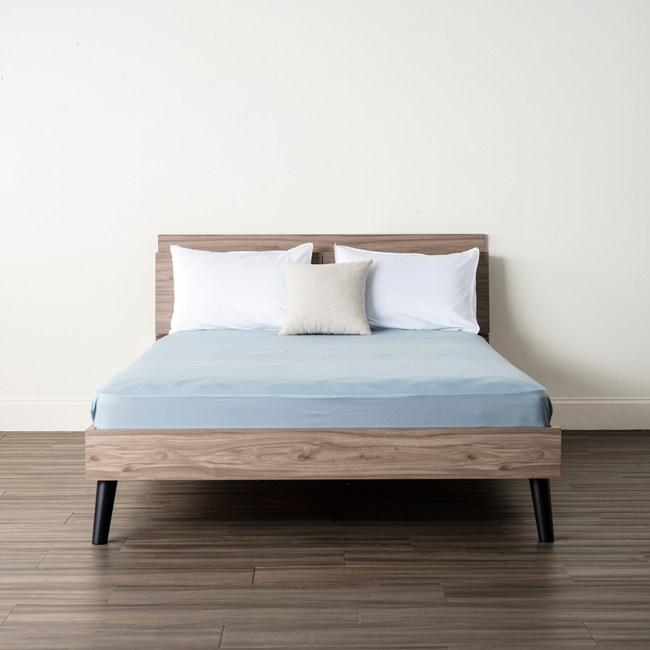 Hoi! 純棉 床包單人 藍