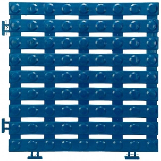 安可銅錢地板4片(30x30x1.6公分)(藍)