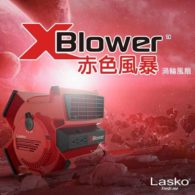 美國 Lasko 赤色風暴 美國專利渦輪 51葉片 強力循環風扇