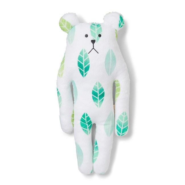 CRAFTHOLIC 宇宙人 奈良綠茶熊小抱枕