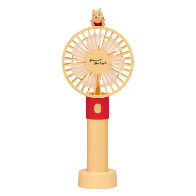 迪士尼小熊維尼系列三合一星光風扇(經典黃)