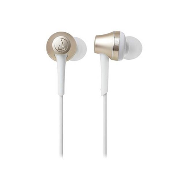 鐵三角 ATH-CKR75BT 香檳金 藍芽頸掛式耳道式耳機 可夾式