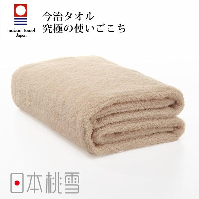 日本桃雪【今治超長棉浴巾】咖啡色