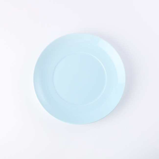 HOLA 璞真純色平盤24cm淺藍