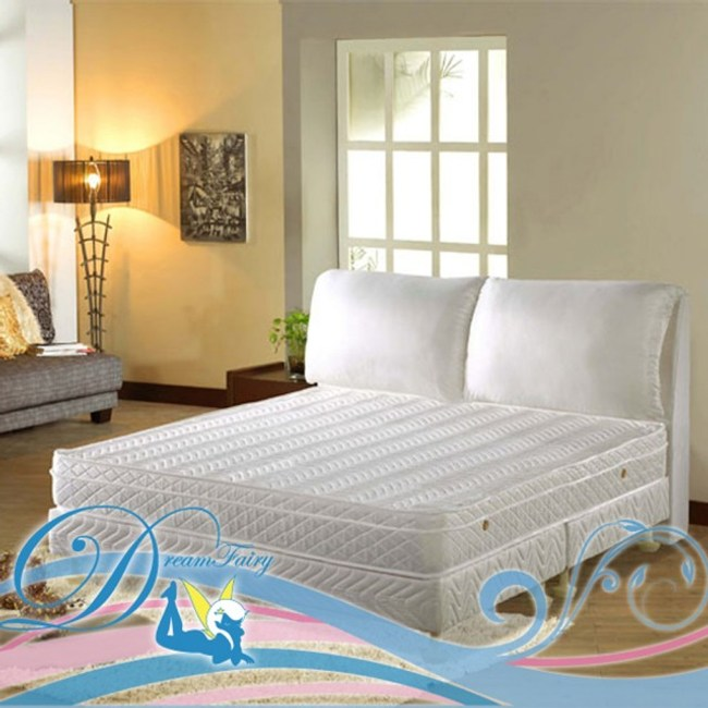 森林系 野薔薇黃金級蜂巢式獨立筒床墊(雙人加大6尺)