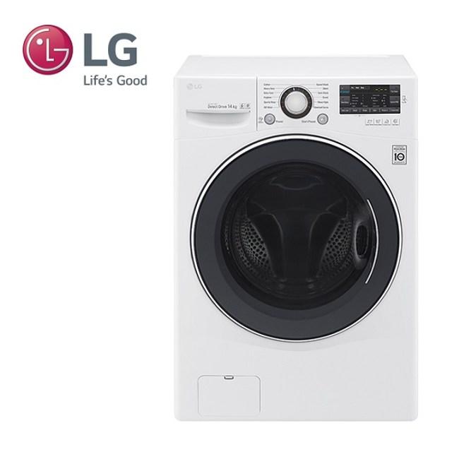 (贈典藏三件組+安裝)LG 14公斤變頻洗脫烘洗衣機 F2514DTGW