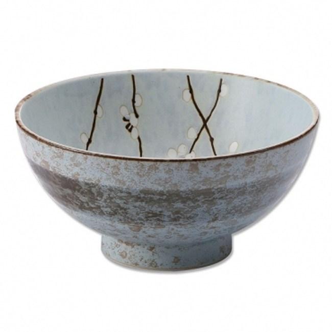 日本白梅麵碗19.5cm