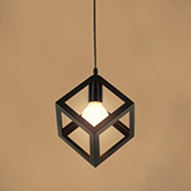 HONEY COMB 工業風視覺系單吊燈 方形 TA8388