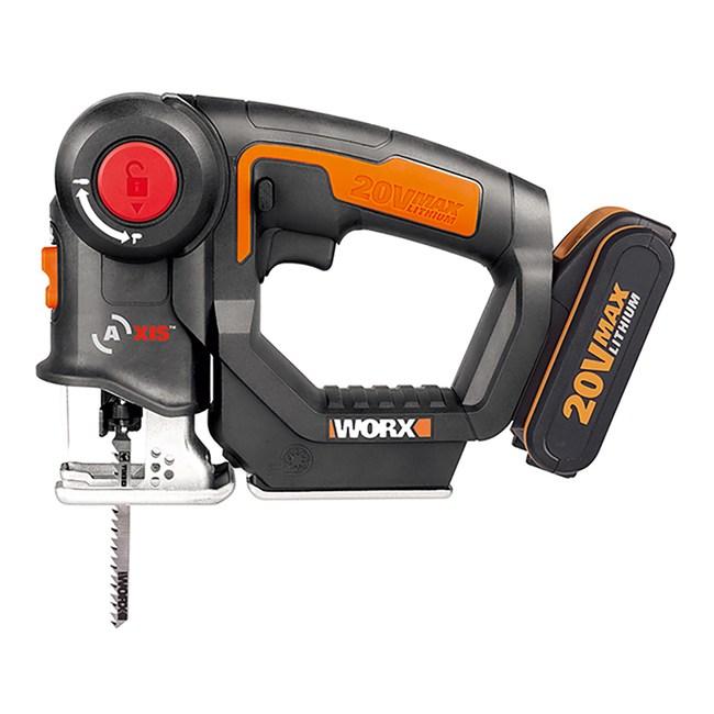 Worx 20V 軍刀鋸/線鋸機2.0ah*2 WX550.1