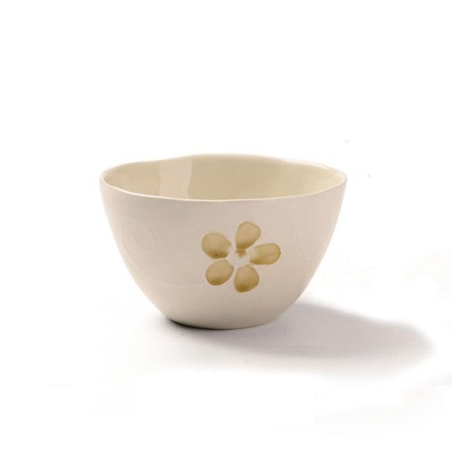 創意家用日式成人餐具 5.5英吋麵碗米色