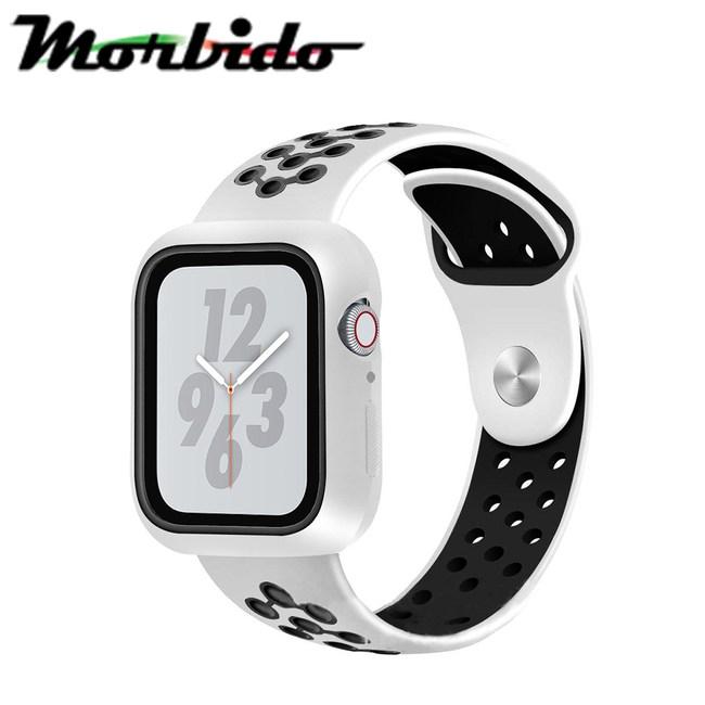 Morbido蒙彼多AppleWatch 4/5 40mm透氣矽膠錶帶