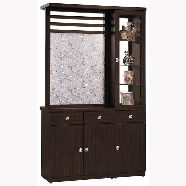 【obis】胡桃4尺雙面櫃(胡桃 4尺 雙面鞋櫃)胡桃色
