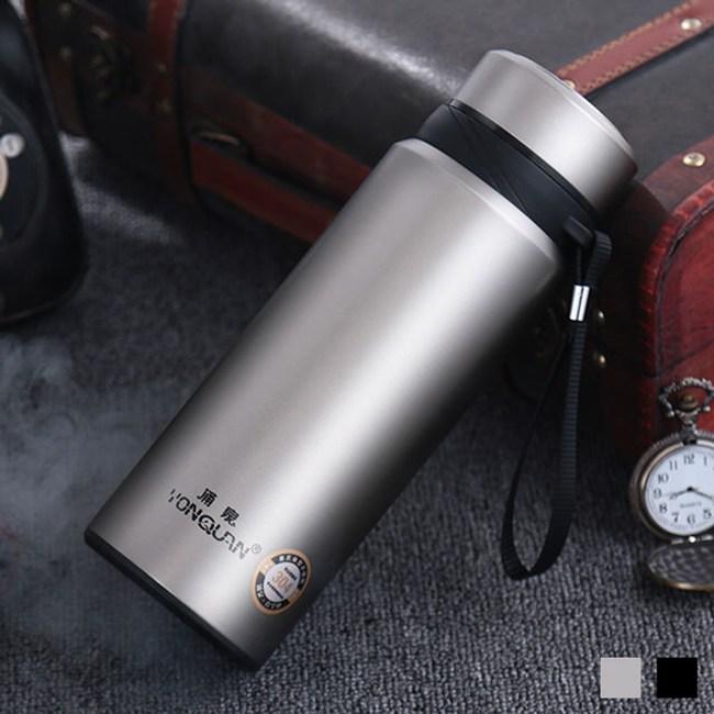 【PUSH!戶外休閒用品】不鏽鋼雙層真空保溫瓶(750ml不鏽鋼色)E82-1