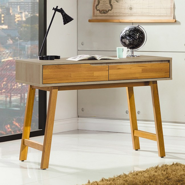 【YFS】迪麗雅3.5尺書桌-106x54x79cm