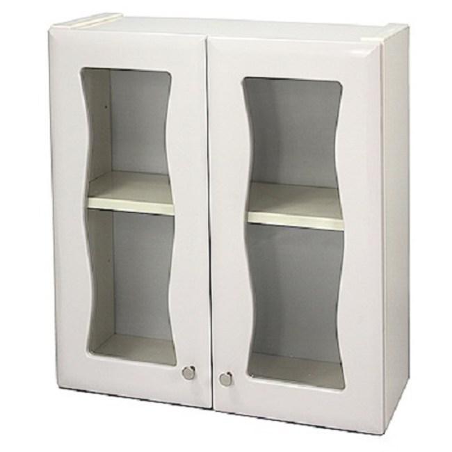 Aaronation 時尚造型塑鋼雙開門浴櫃 GU-W1008
