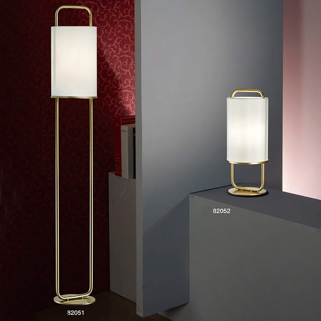 【PW居家燈飾】 現代風造型布罩落地立燈