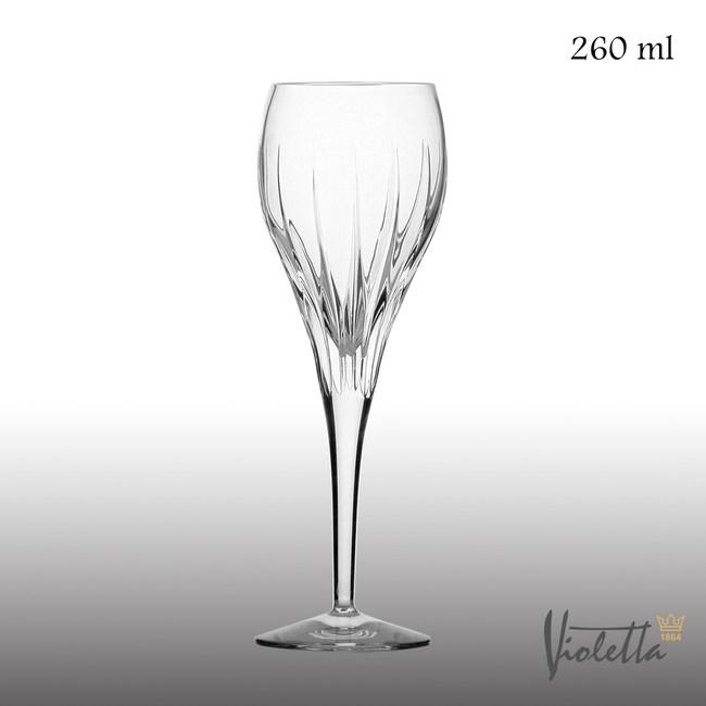 【Royal Duke】Violetta摩登型流線白酒杯260ml(一