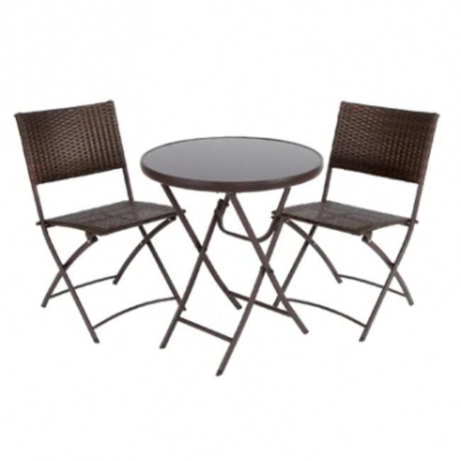 米羅一桌二椅組(圓桌)