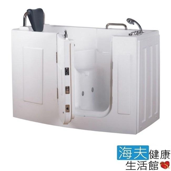 【海夫】開門式浴缸 107-T 恆溫水柱按摩款_140*76*98cm