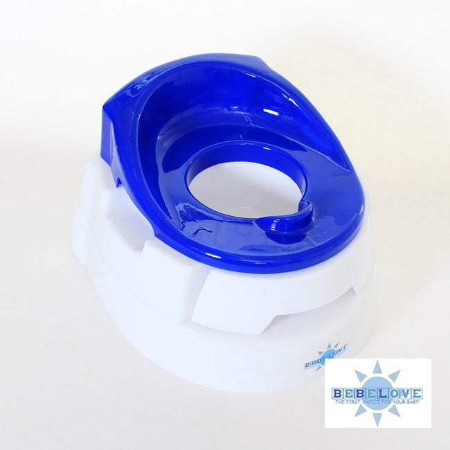 美國BeBeLove 抽屜式兒童學便器-藍