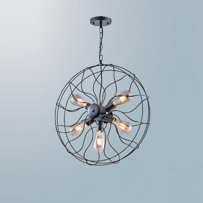 【大巨光】工業風吊燈_中(LW-09-3703)