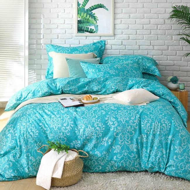 【Cozy inn】靜思-200織精梳棉被套床包組(雙人)