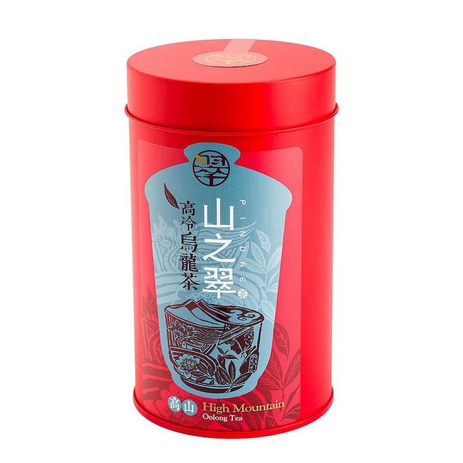 【山之翠】高山烏龍茶(150克/四兩裝)紅色罐裝