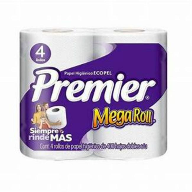 Ecopel Premier捲筒式衛生紙(4捲*400張)/袋*12/