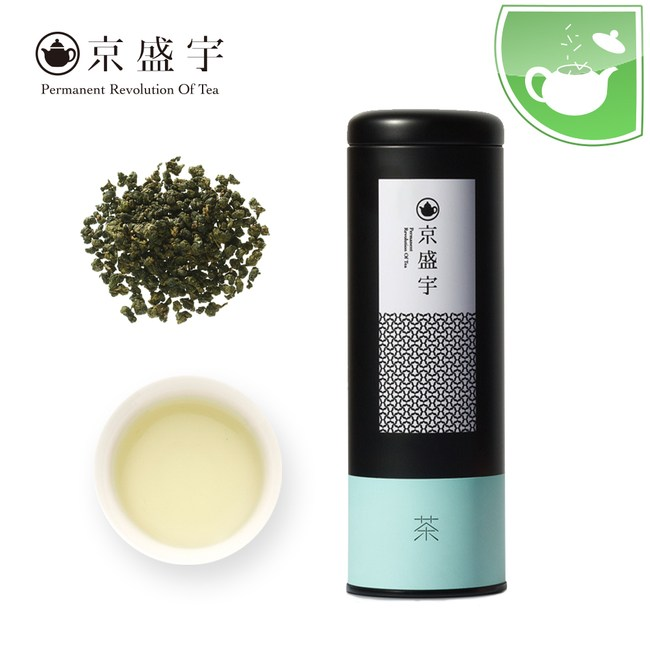 【京盛宇】罐裝原葉茶–清香梨山烏龍(100g)