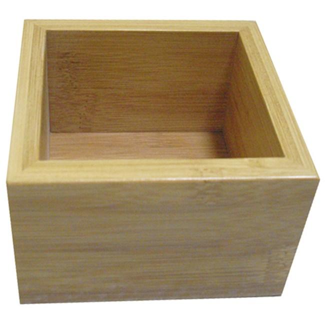 品木正方形置物盒 小型尺寸款 H6005 8.6x8.6x6cm