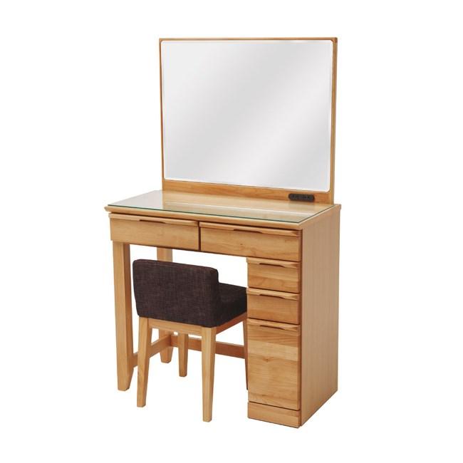 凛香大鏡面化妝桌椅組 完美主義 Y0031F