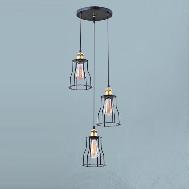 【大巨光】工業風吊燈_小(LW-09-3706)