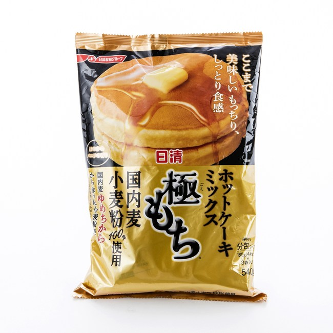 日本日清極致Q彈鬆餅粉180gx3