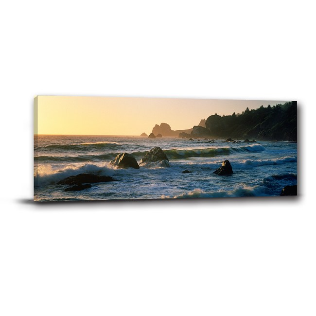 24mama掛畫-單聯式 海景掛畫 浪漫的海風 80x30cm