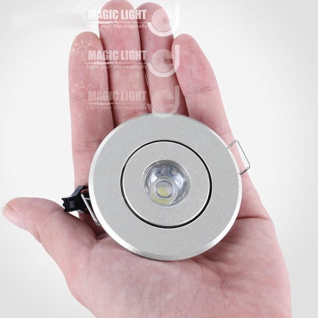 【光的魔法師 】LED展櫃燈天花射燈小崁燈 3W(開孔45-50mm)黃光