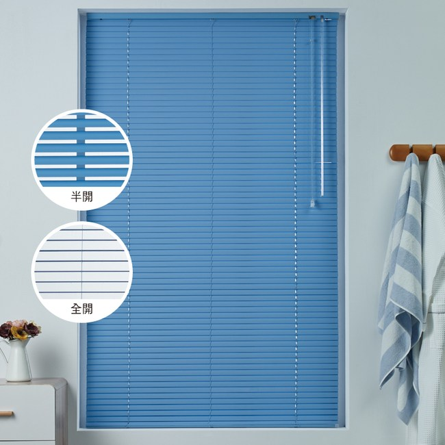 新款鋁百葉窗100X165CM藍