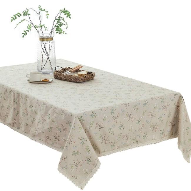 田園花語桌巾140cmx180cm