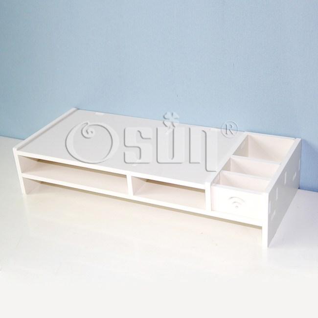【Osun】DIY木塑板文具盒電腦墊桌-低(GJZGJ02)
