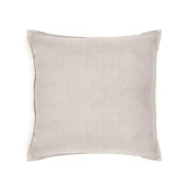 HOLA 新素色織紋抱枕60x60cm 銀灰色