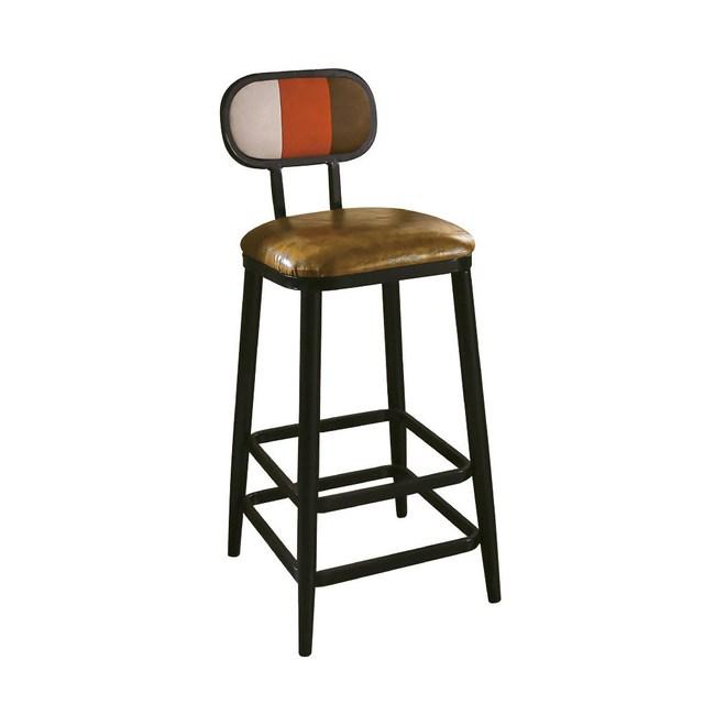 賽納彩色吧台椅