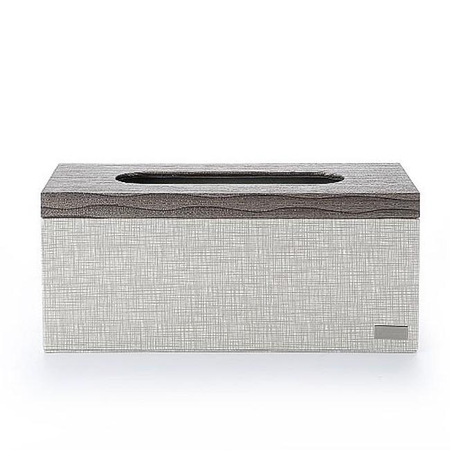 【Finara】上掀蓋式-擦手紙巾專用盒-桌上型-(米爾頓KENZO)