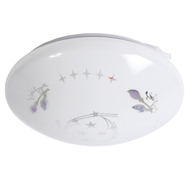 透明紫百合浴廁陽台燈