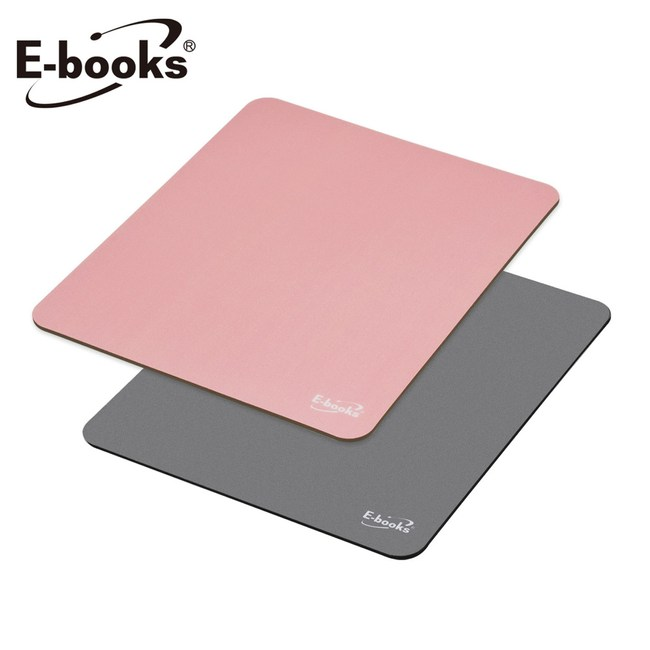 E-books MP2 無印風極簡滑鼠墊灰