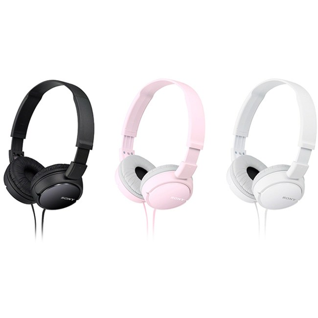 【SONY】耳罩式立體聲耳機 MDR-ZX110AP (白)