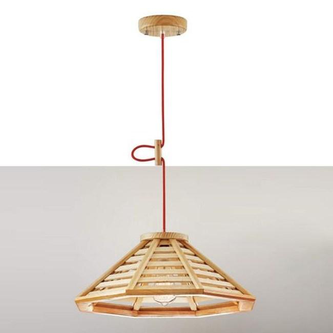 YPHOME 北歐原木單吊燈 FB12514