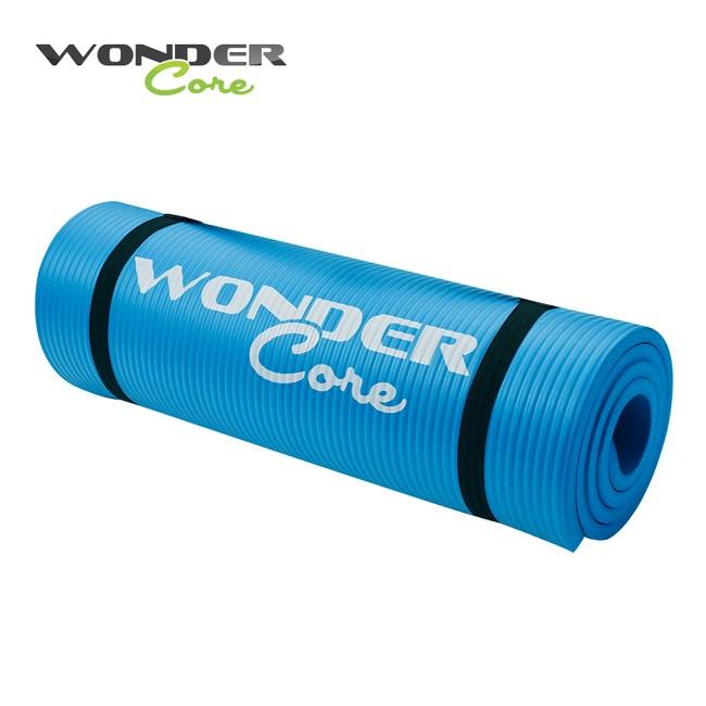 Wonder Core高密度瑜珈墊 藍色/1.6cm