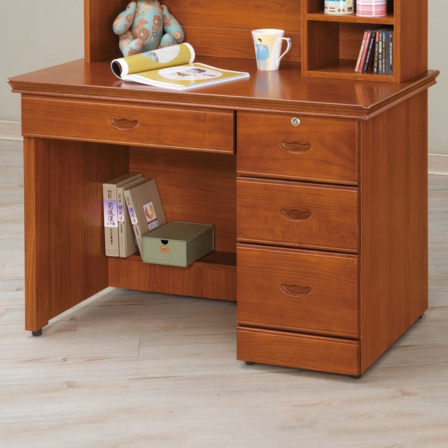 【YFS】諾爾柚木3.5尺書桌下座-105x57x75cm